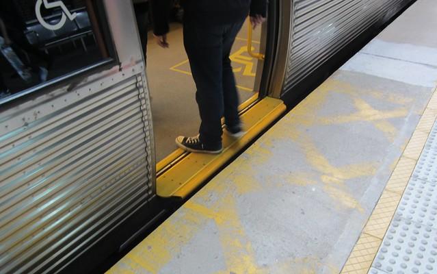 Fremantle station: no gap