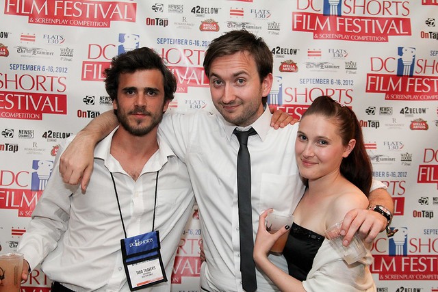 filmmakers at the DC Shorts City View party