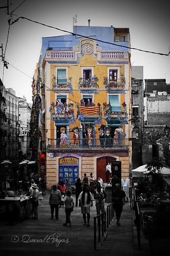 Plaça dels Sedassos a Tarragona by Queralt Vegas