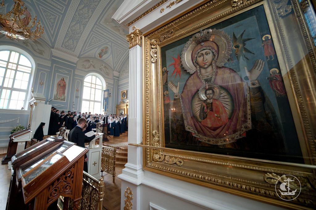 """Икона Пресвятой Богородицы """"Знамение"""" Царскосельская"""
