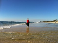 shadows & sand patterns South Golden Beach 6Sep2012