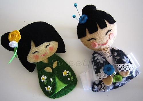 ♥♥♥ Para uma menina que gosta muito desta coisas... by sweetfelt \ ideias em feltro
