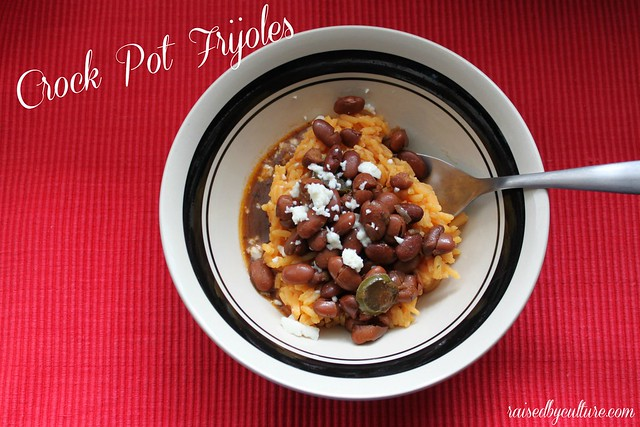 Crock Pot Frijoles