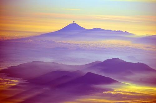 sky bali indonesia java vulcano