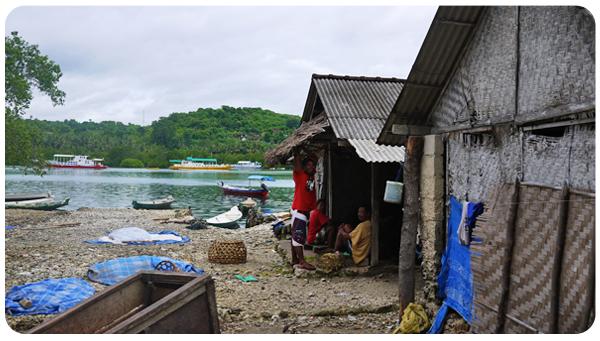 Nusa Penida - Vue sur la mer
