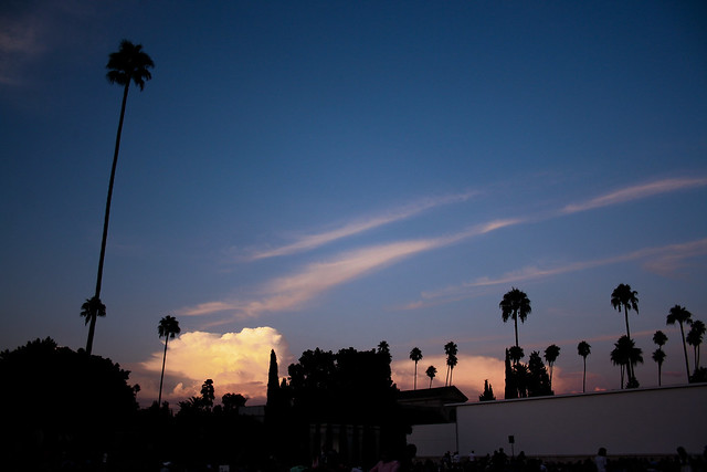 sunset cinespia