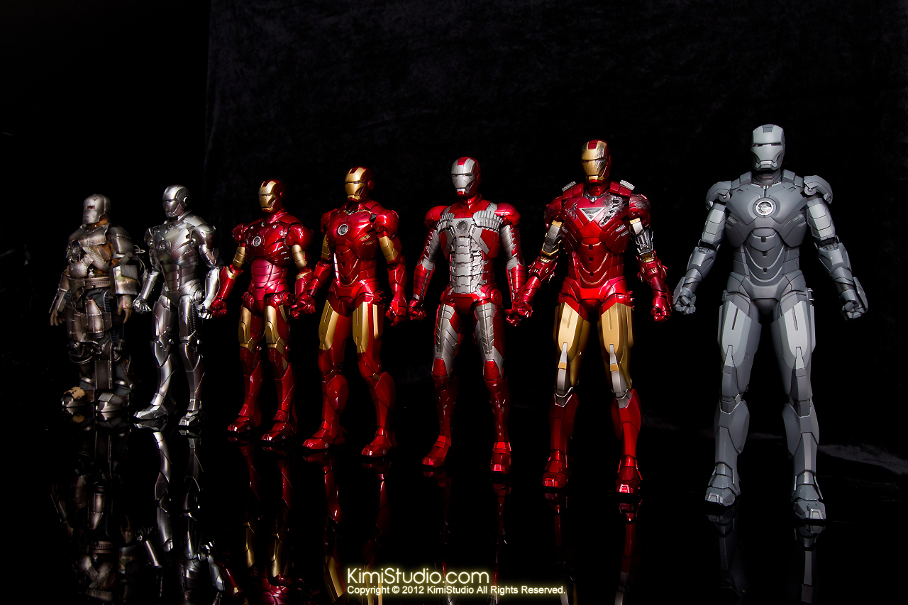 2012.09.13 MMS168 Hot Toys Iron Man Mark I V2.0-090