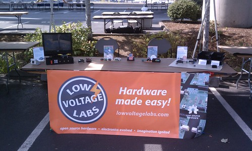 Low Voltage Labs at Portland Maker Faire 2012