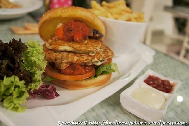 5.tofu burger @ garden RM 15.90 (1)