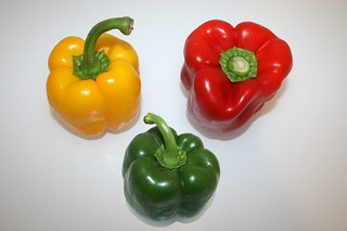 09 - Zutat Paprika / Ingredient bell peppers