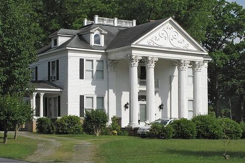 white money green nc rich columns mansion halifax smalltown manse 20110511