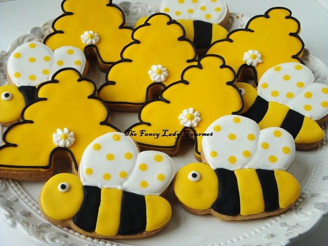 Bumble bee cookies | Flickr - Photo Sharing!