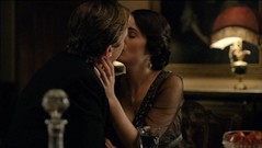Matthew Crawley and Lady Mary first kiss