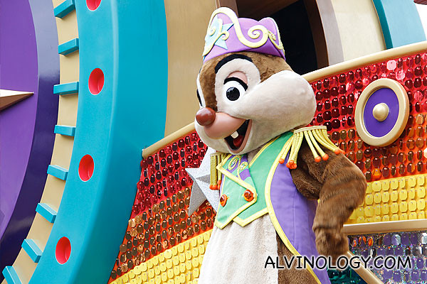 One of the chipmunks in Chip & Dale
