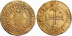 Emmanuel I Portugues 10 Cruzados
