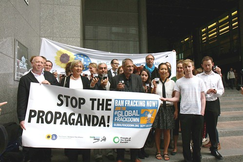 Ban Fracking and shale gas in Europe before it is too late!