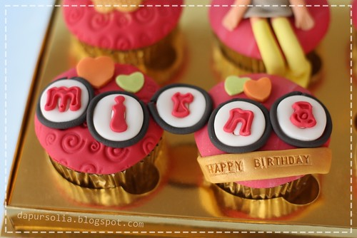 Cupcake Set for Mirna