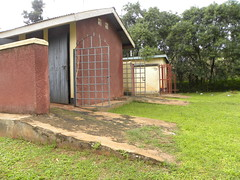 The ONLY accessible public toilet for PWDs in Gulu