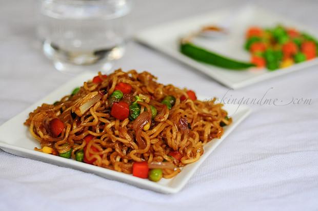 Instant Organic Garden : Pakistani recipes instant vegetable noodles recipe
