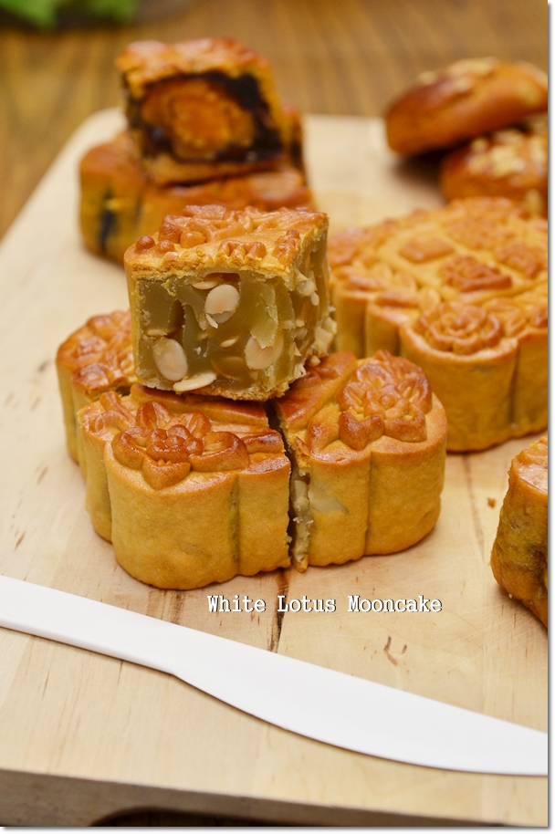 White Lotus Paste Mooncake