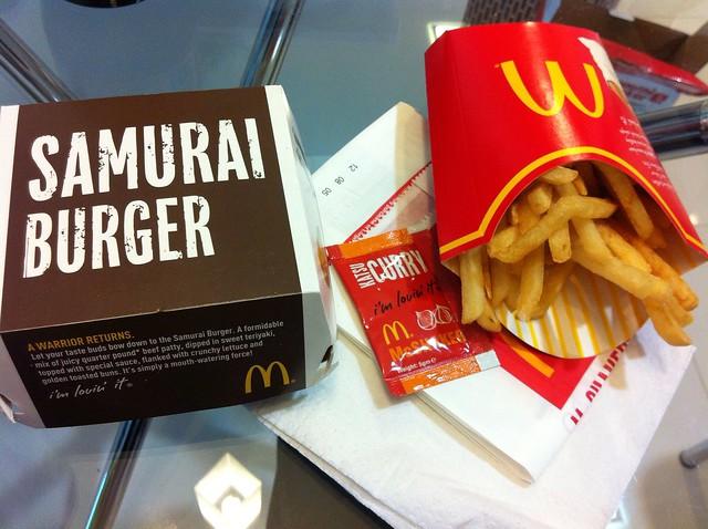 Mcdonald Samurai Beef Burger