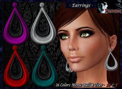 P Alexia Earrings 2 ~Colors Menu~