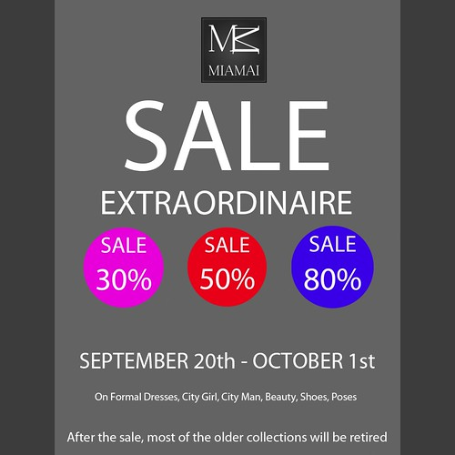 MIAMAI_SALE Extraordinaire