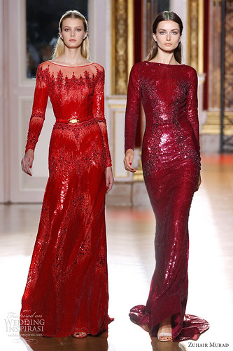 zuhair-murad-fall-2012-couture-long-sleeve-wine-red-burgundy-gowns