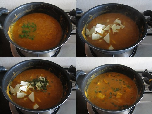 Instant Paneer Curry-step4