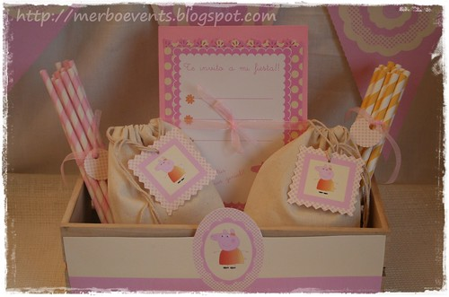 invitaciones Merbo Events Kit Peppa Pig