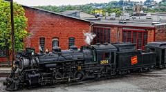 Steam Locomotive CN 3254