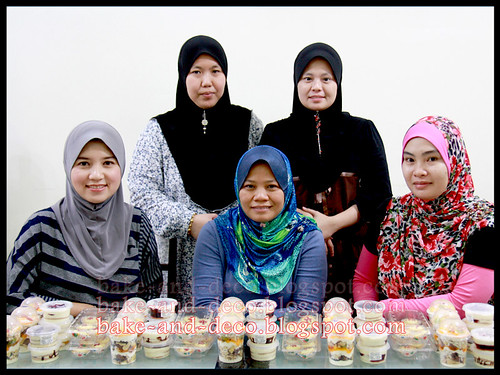 Baking Class: Cheese Tart + Lapis Cheezy + Tutty fruity Cream Dessert ~ 10 mei 2012