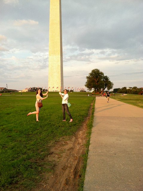 Leaning tower of Washington