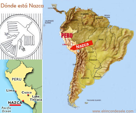 Mapa de Nazca