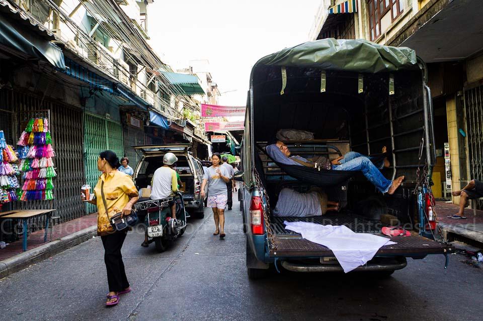 Truck Nap @ Bangkok, Thailand