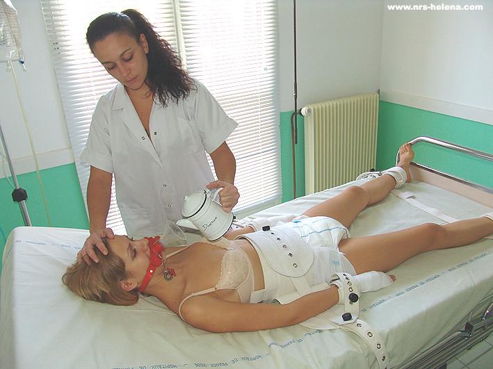 Nurses milking a mental patient039s cock - 1 part 9