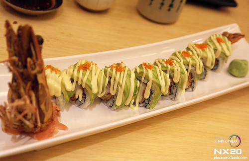 miraku dragon roll