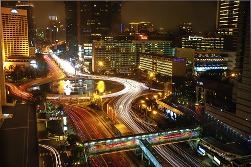 Selamat Datang (Hotel Indonesia Roundabout) - Fuji X100 (Explored September 25, 2011 #118)