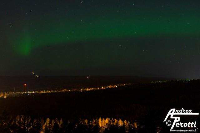 Aurora Borealis - Rovaniemi 24.09.2012
