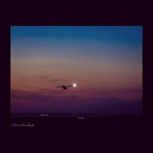 Landing Before Last Light by Tom C. Frundle