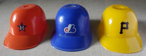 Houston, Montreal & Pittsburgh Dairy Queen Helmets