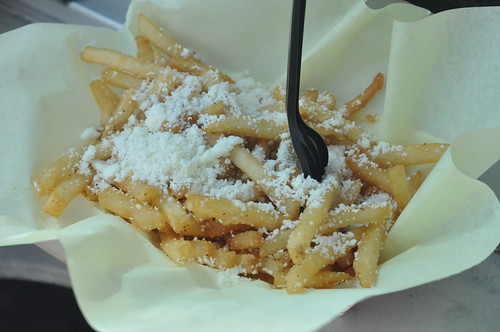 Garlic Fries with Cotija Cheese