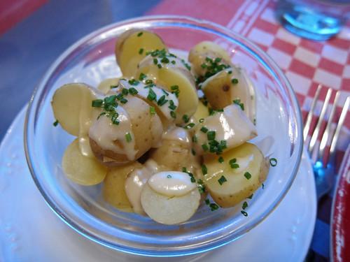 Pommes Ratte en Vinaigrette