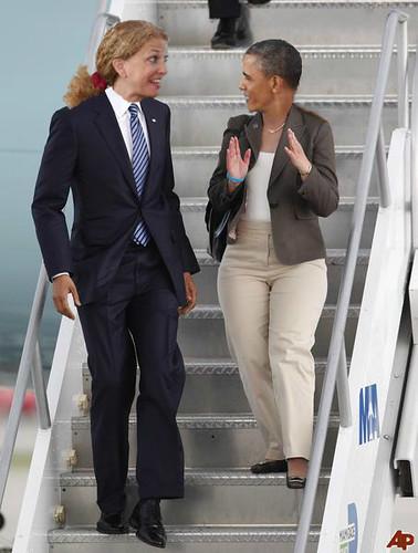 Barack Wasserman Debbie Hussein Schultz Obama