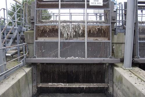 Beckton sewage plant
