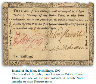 Island of St John 10 Shillings