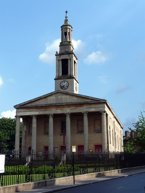 st lukes church, norwood