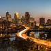 Minneapolis and the Swooping 3rd Ave Bridge by Greg Benz Photography