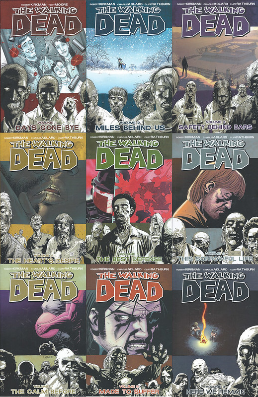 The Walking Dead 1-9