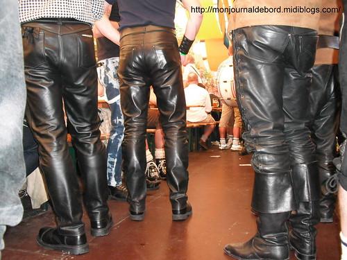 pantalons bottes cuir Oktoberfest 2012